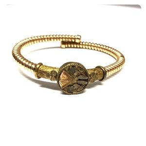 Antique Victorian Flex Bracelet G.F. Stretch Small